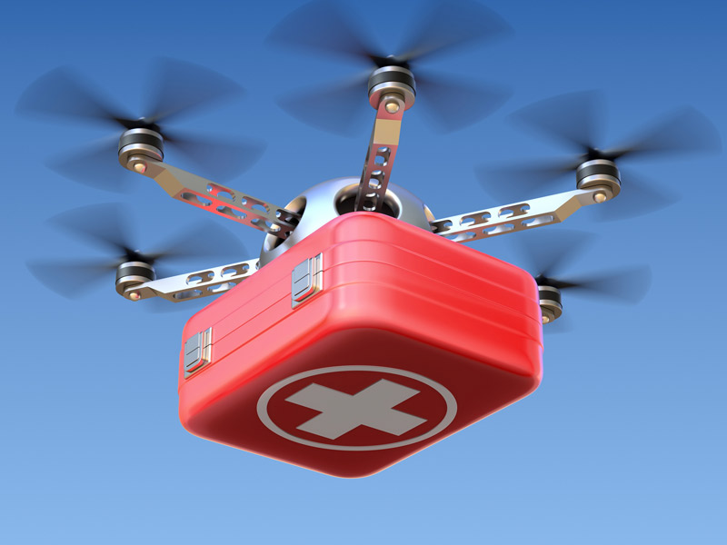 Flirtey Partners With Ambulance Service To Launch First Emergency Drone Delivery Program In US